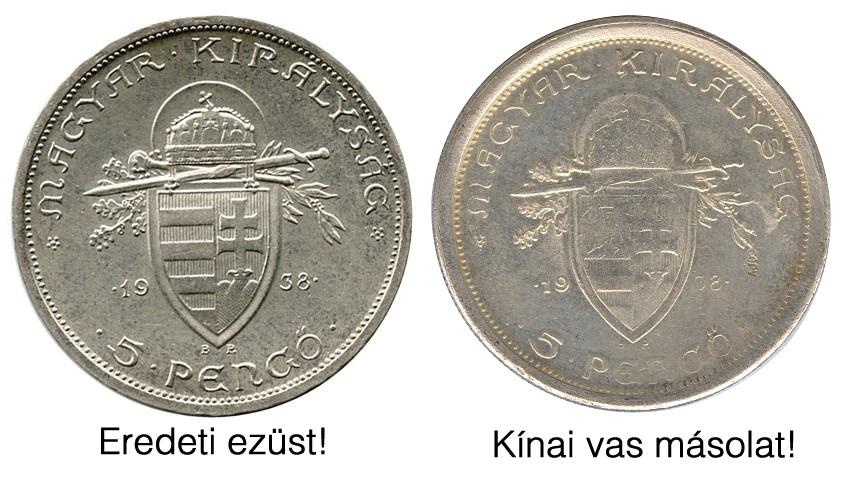 http://www.pengoportal.hu/hirek/1938-as-szent-istvan-5-pengo-reces-peremu-vas-masolata-kinabol-copy-replika-hamis/1938-as-szent-istvan-5-pengo-reces-peremu-vas-masolata-kinabol-copy-replika-hamis_osszehasonlitas.jpg